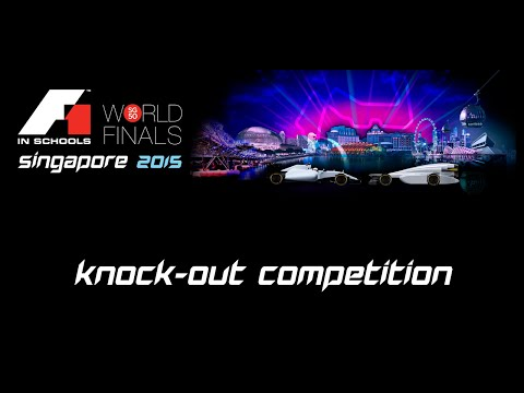 F1 in Schools World Finals Singapore 2015 Day 3 - Knock-out Competition