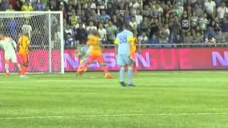 Гол Джолчиева ~ Астана - АПОЭЛ 1:0 ~ Лига Чемпионов 18/08/2015
