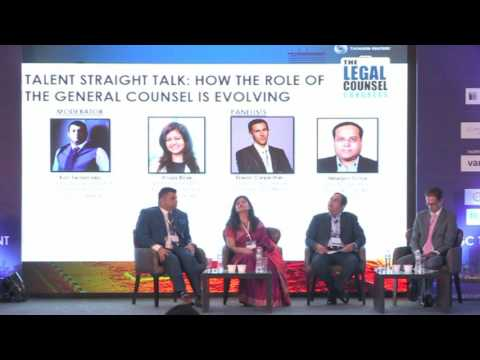 LCC 2017: TALENT STRAIGHT TALKS: HOW THE ROLE OF GENERAL COUNSEL IS EVOLVING