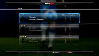 pes 2012 demo  main menu
