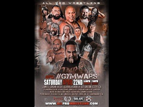 All Pro Wrestling #gymwars 2017