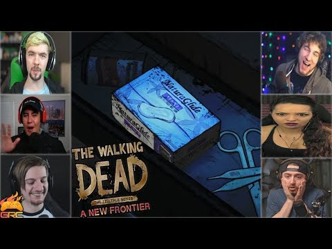 Gamers Reactions to Clementine on Her Period (Part 1) | The Walking Dead - A New Frontier