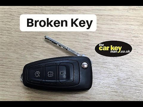 Key Repair Ford Transit Custom How To Change Case And Battery