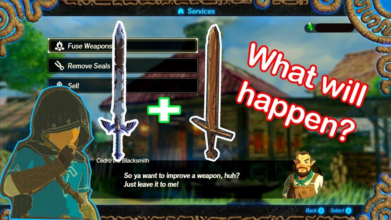 Hyrule Warriors Age Of Calamity Master Sword Training Sword Youtube