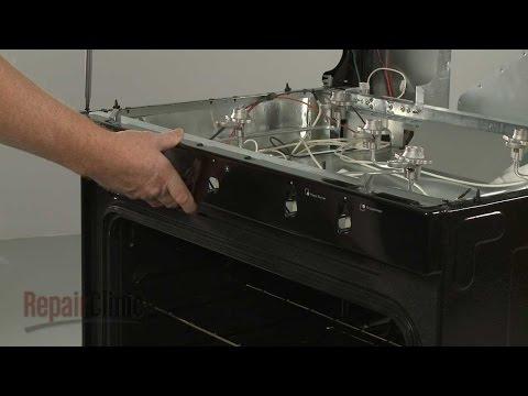 Front Manifold Panel - Whirlpool Gas Range