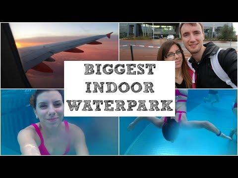 BIGGEST INDOOR WATERPARK   TROPICAL ISLAND BERLIN VLOG #1/3