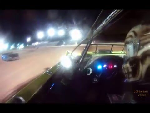 J.O. Nobles - In car camera at Golden Isles Speedway