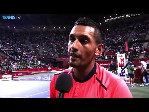 Kyrgios Reacts To Fun Match With Monfils Tokyo 2016