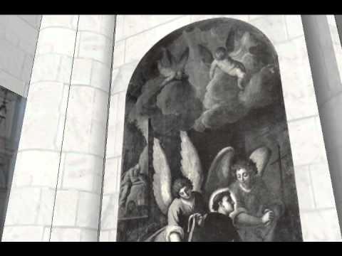 Chiesa di Santa Lucia recreated using SketchUp