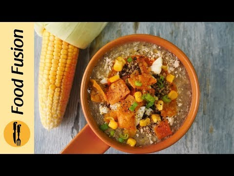 Roadside Chicken Corn Soup Recipe By Food Fusion