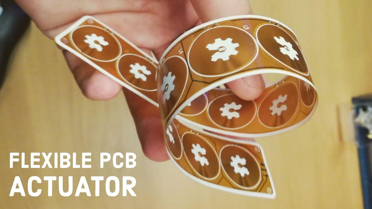 Flexible PCB Actuator