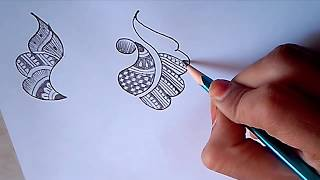 Learn traditional and latest mehndi step by step at home #4