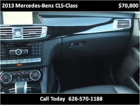 2013 mercedes benz cls class used cars alhambra ca youtube for Mercedes benz alhambra