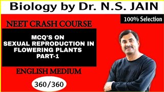 MCQ's on Sexual Reproduction in Flowering Plants for Class 12th Part-1 in English