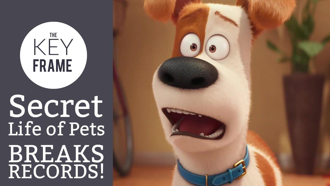 The Secret Life of Pets break box office records