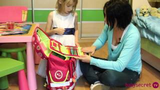 Саша Давыдовская о школьном рюкзаке Spiegelburg ABC Ergo Style plus