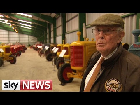 The Farmer With 230 Tractors For Sale