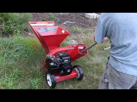 MTD Chipper/Shredder (242A645) repair / tune up / reassembly and first start (cold start) - part 2