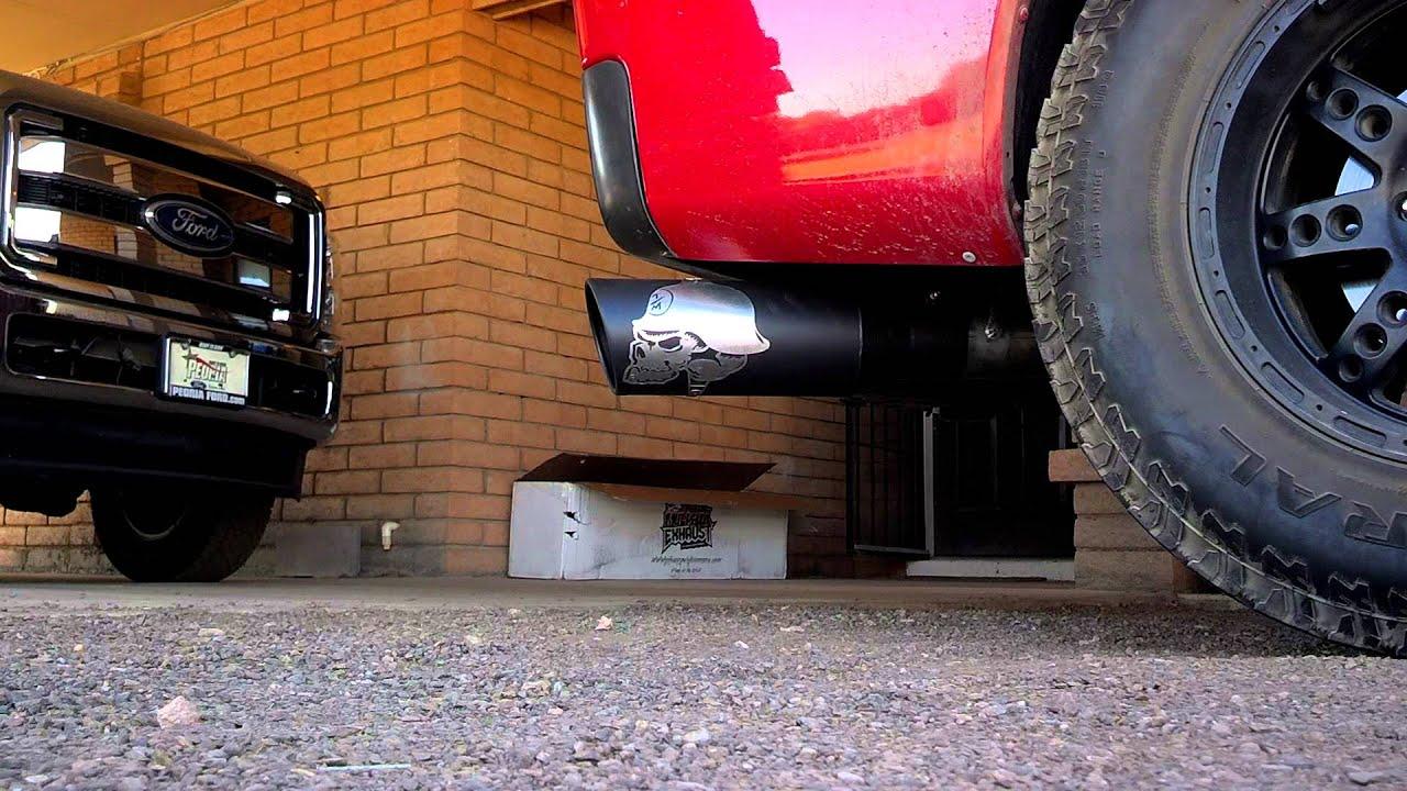 2011 titan metal mulisha gibson exhaust