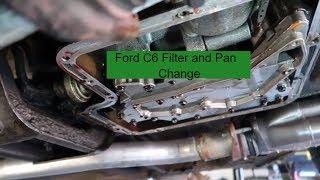 Changing the Pan & Gasket on my 1973 Torino