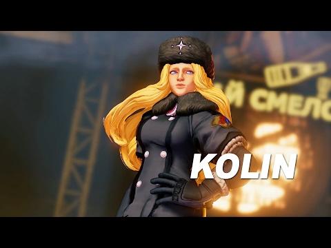 SFV: Kolin Reveal Trailer