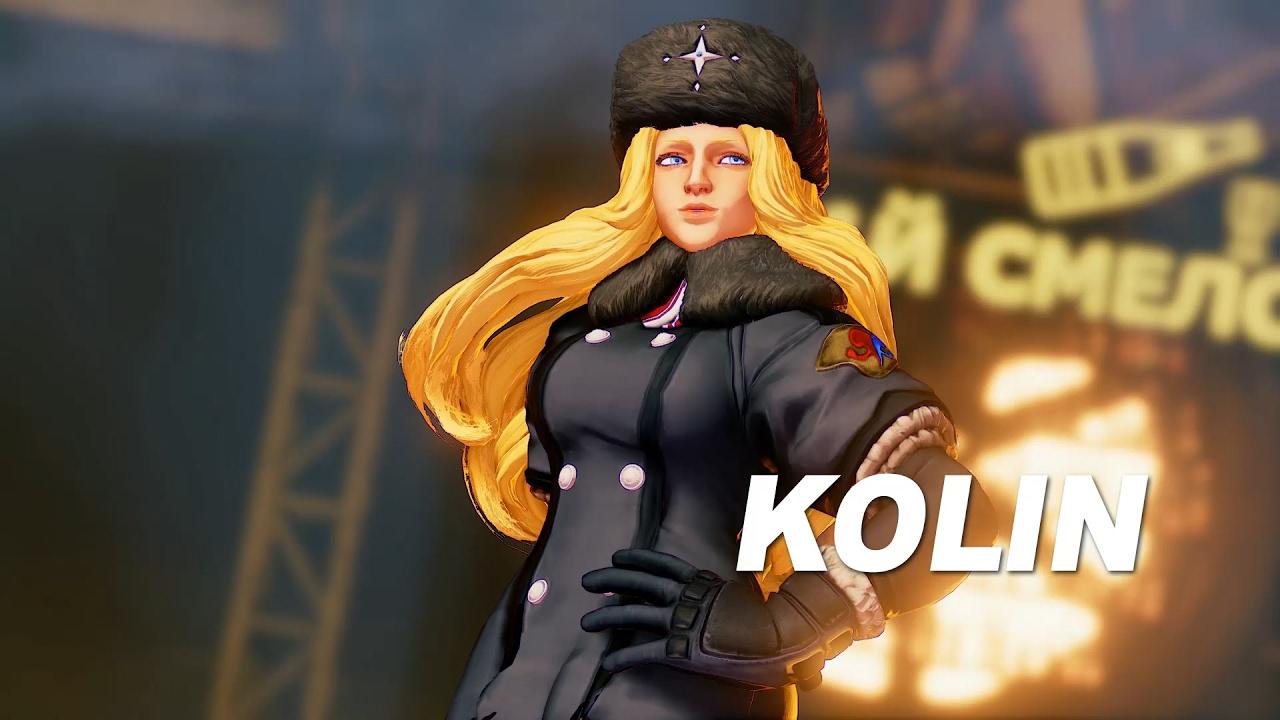 [Street Fighter V] รวมทุกอย่างที่ควรรู้ กับสาวน้ำแข็งสุดเย็นชา Kolin