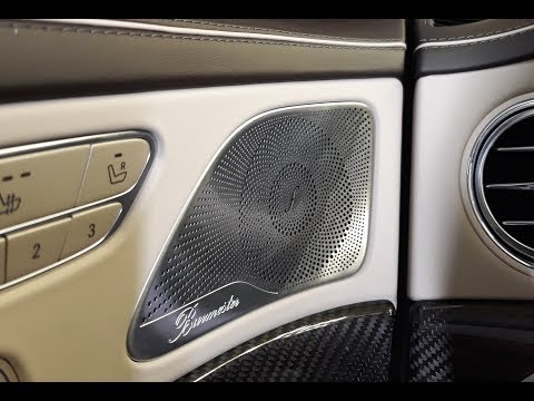 Автозвук в Mercedes S 63 AMG. Удаляем Burmester!