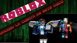 Eh H4ck3ad0 This Roblox Account!