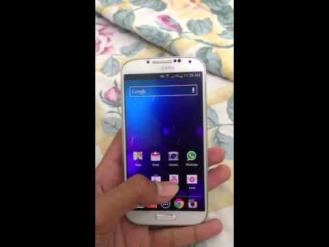 Samsung galaxy s4 stock launcher