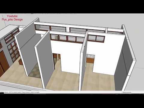 Mendesain Rumah Lebar 5 Meter x 12 meter dengan Teknik Pencahayaan Ruangan