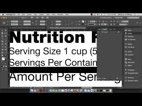 nutrition-facts-label-creation-using-indesign