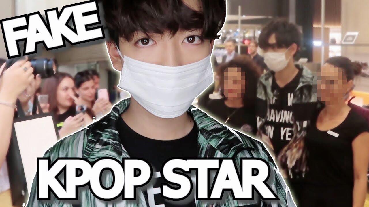 Fake Kpop Celebrity Prank In Milan Youtube
