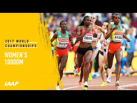 Women's 10000m Final | IAAF World Championships London 2017