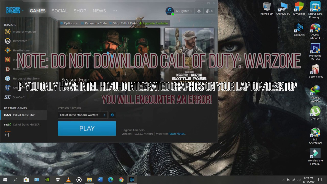 Call of Duty Modern Warfare pulled from sale on Russian
