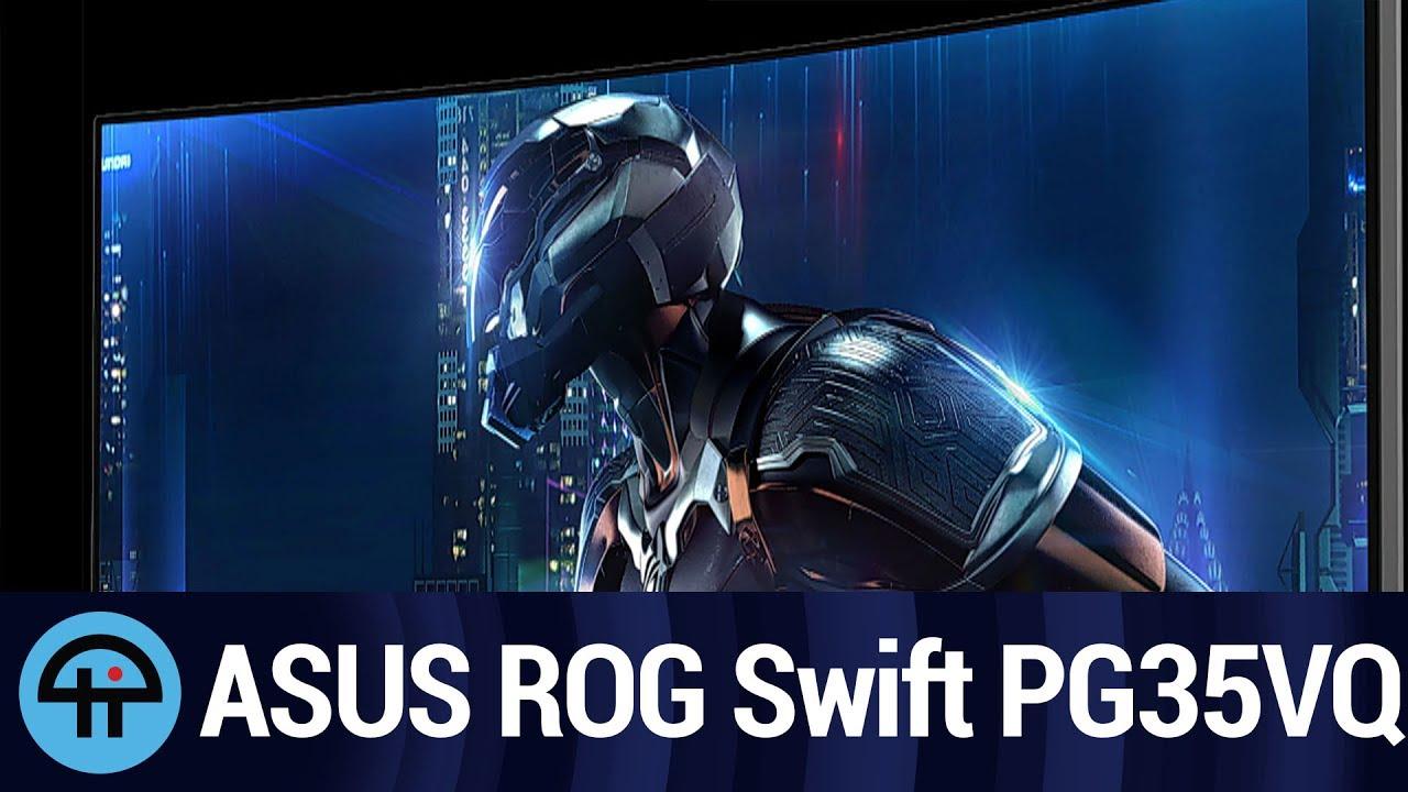 ASUS ROG Swift PG35VQ Announced