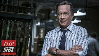 Tom Hanks Talks 'The Post,' Why He Wouldn't Screen Film at White House | THR News