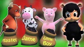 Baa Baa Black Sheep Rhyme | baa baa oveja negra rimas | colección de canciones infantiles