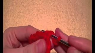 Урок 16. Как связать пико из воздушных петель. Вязание крючком.