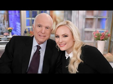 Meghan McCain Pays Touching Tribute to Father John McCain
