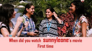 When did you watch Sunnyleone's movie first time|Sunny vs arunjaitley|Open talk|Puthu Aayudham