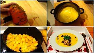 Тыквенный крем суп - самый простой и вкусный рецепт