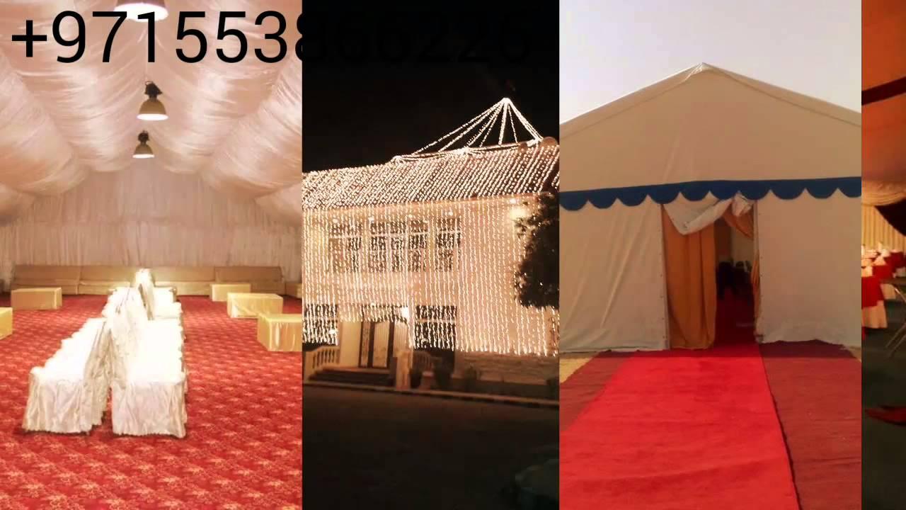 Wedding Tents Rental in UAE, Events Tents Rental in Sharjah, Stages Rental,  Lighting Rental Dubai