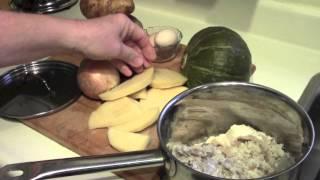 Repotting Peppers  -  Harvesting Cucumbers -  Maritime Soul Food