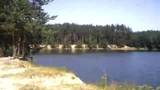 Голубые озера ч. 2(Первая моя поездка на голубые озера. Ехали вдвоем на велосипедах, за 15км. до озер поломался велосипед, был..., 2011-02-28T18:12:04.000Z)