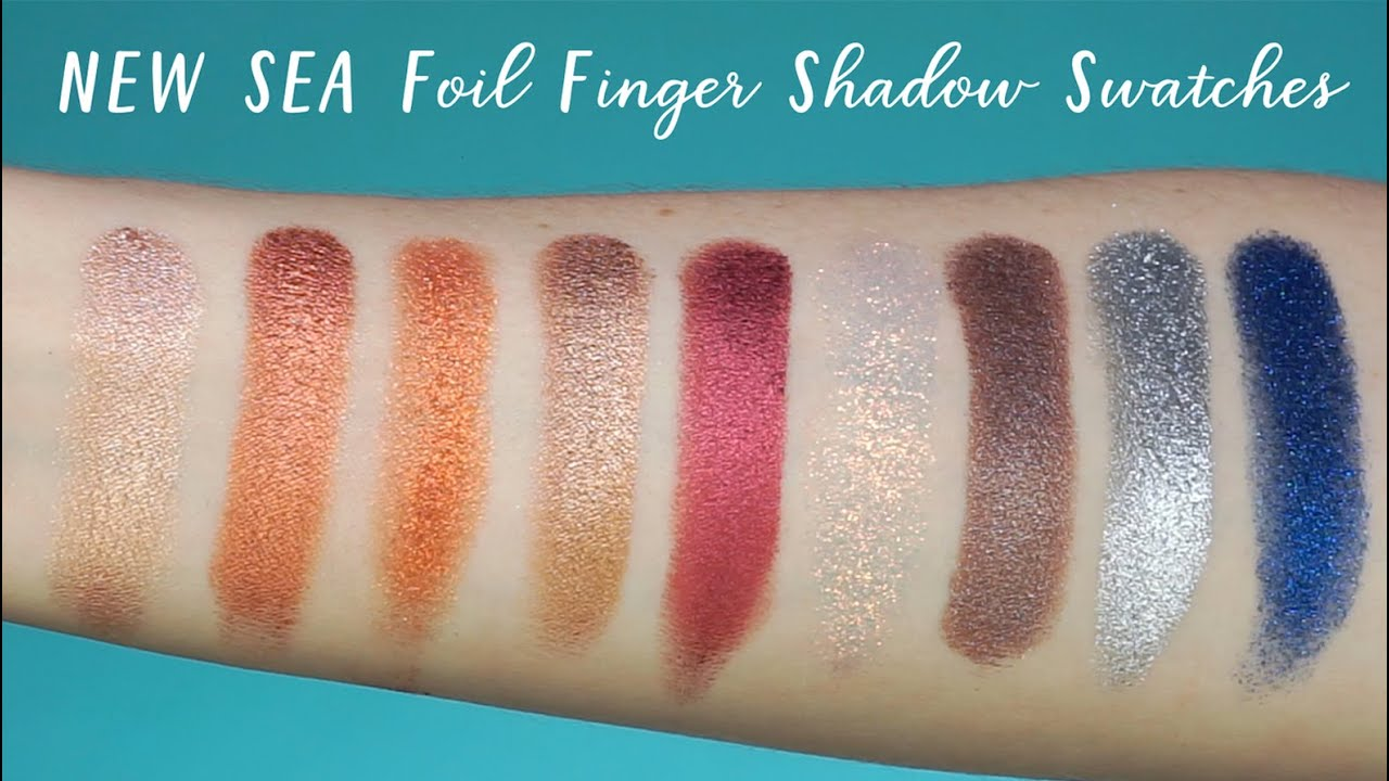 Rainforest Of The Sea Foil Finger Paints Shadow Palette by Tarte #11