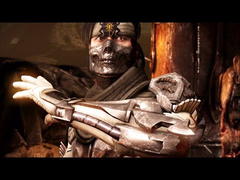 Mortal Kombat X - Takeda Klassic Ladder Walkthrough and Ending