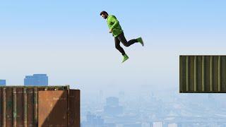 INSANE MILEHIGH DEATHRUN! (GTA 5 Funny Moments)