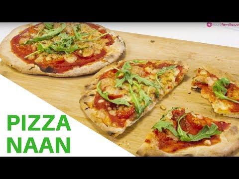 comment-faire-des-pizzas-naan?-|-recettes-faciles