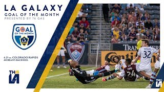 McBean sneaks a back heel past Howard | Goal of the Month - presented by 76 Gas thumbnail