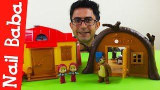 nail baba maşa ile koca ayı turke izgi film oyuncak evleri